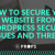 How to Avoid Security Issues on Wordpress